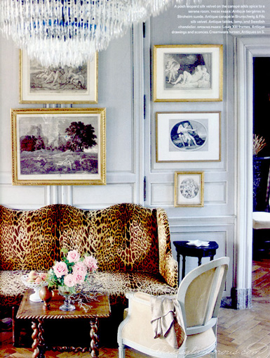 here are some of my favorite ways leopard print has been incorporated