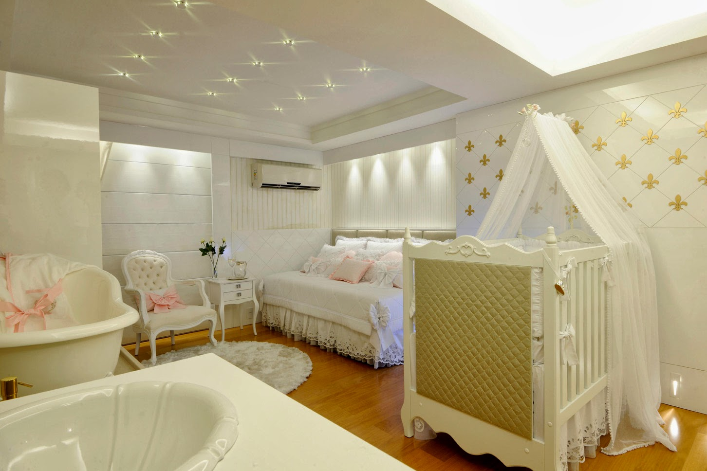 design interiores decoracao quarto bebe:50 Quartos de bebês decorados – meninos e meninas! – Decor Salteado