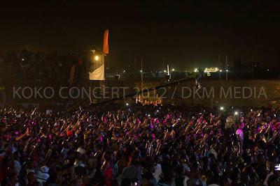 Crowd Koko Concert