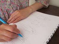 Making a dressmaker's croquis