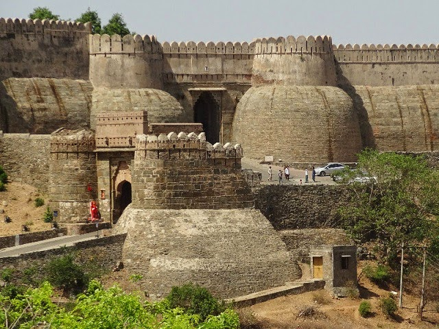 Kumbhalgarh Fort - the second most important fort of the Mewar Rulers of Rajasthan