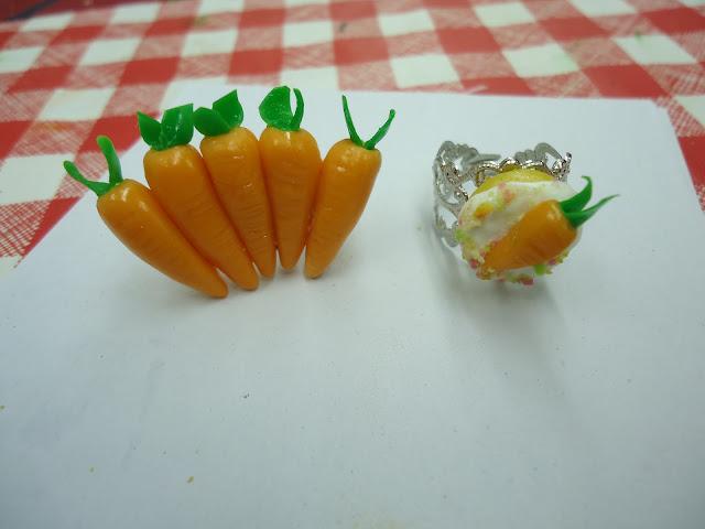 Carrot Ring Joke Carrot Carat Ring And a