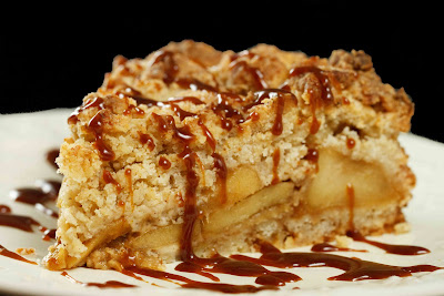 Caramel Apple Torte by A Culinary Journey with Chef Dennis