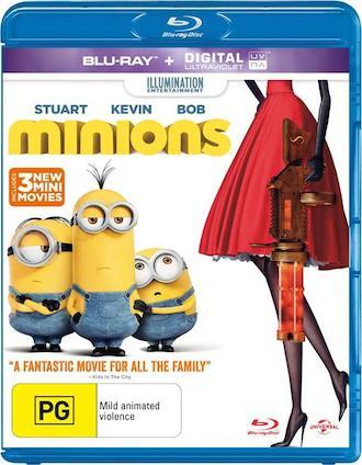 Minions 2015 Hindi Dubbed BluRay