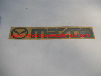 Emblem Alumunium 3M Besar Chrome Mazda