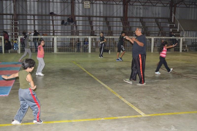 Olmuenoticias taller de kung fu en gimnasio municipal de for Gimnasio narvaez