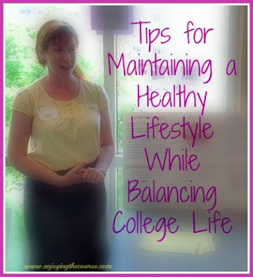 Enjoying The Course: Busy College Student? Tips for Staying Healthy