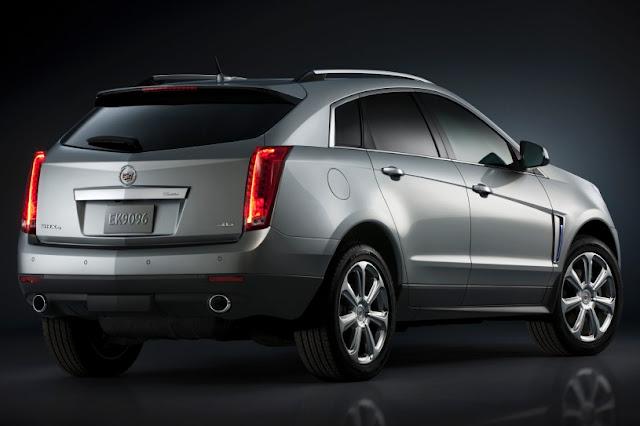 2015 New Cadillac SRX Changes back