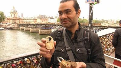 Meet the Parisian with the keys unlocking the hearts of hundreds of lovers