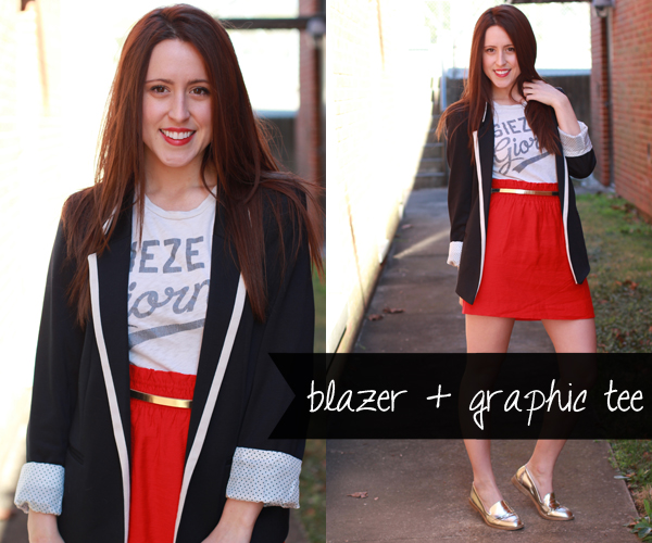 Here & Now: 1 Blazer, 4 Ways - Weekend Chic | #WearWallisFashion