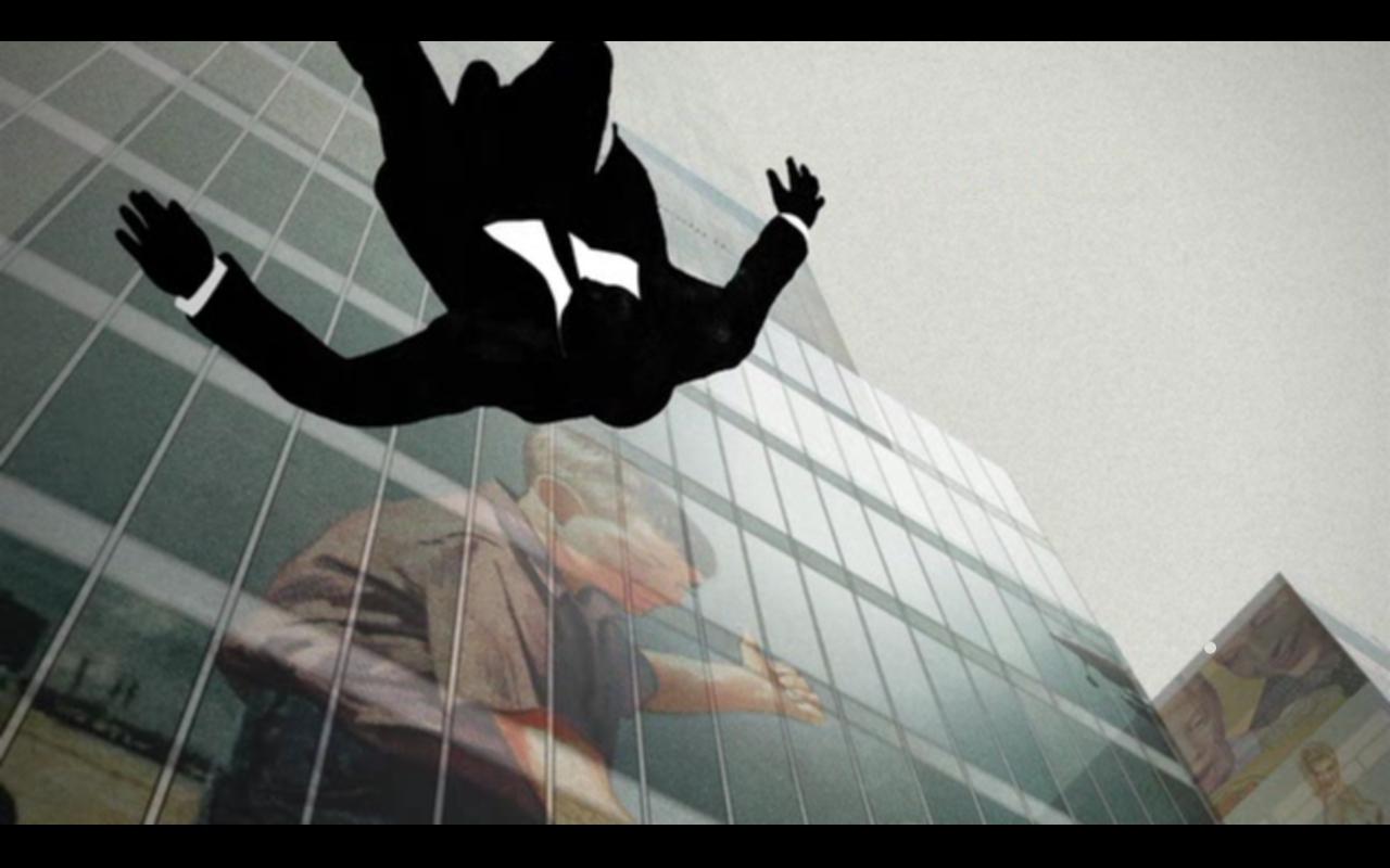 Mad Men's falling man