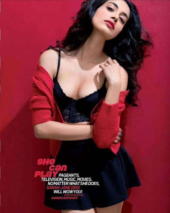 sarah jane dias maxim shoot latest photos