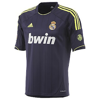 Jersey Real Madrid Away Grade Ori 2012/2013