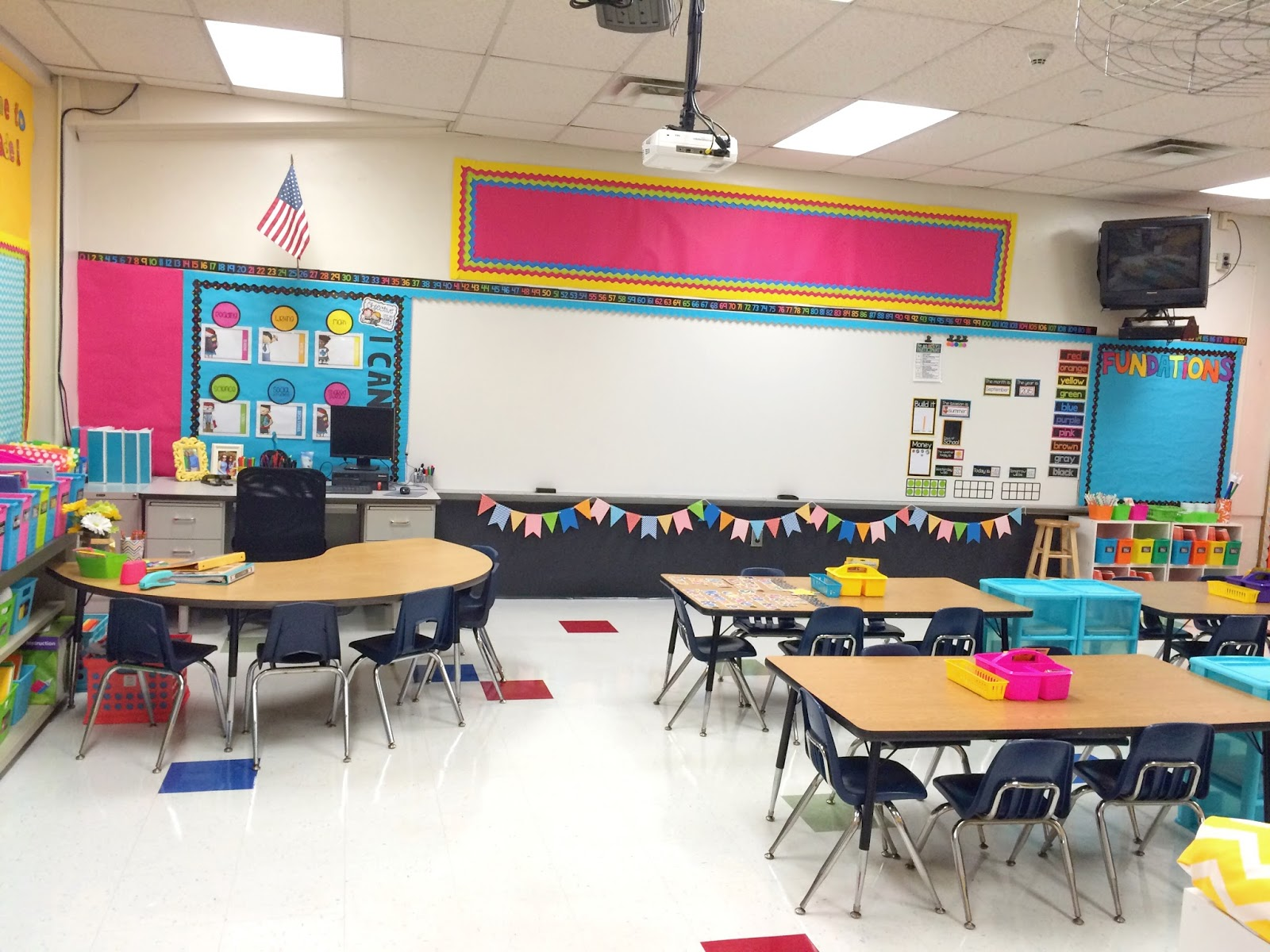 Classroom Setup And Design ~ Classroom reveal first grade made