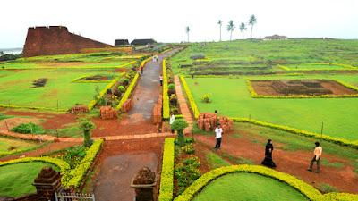 Bekal Fort Garden