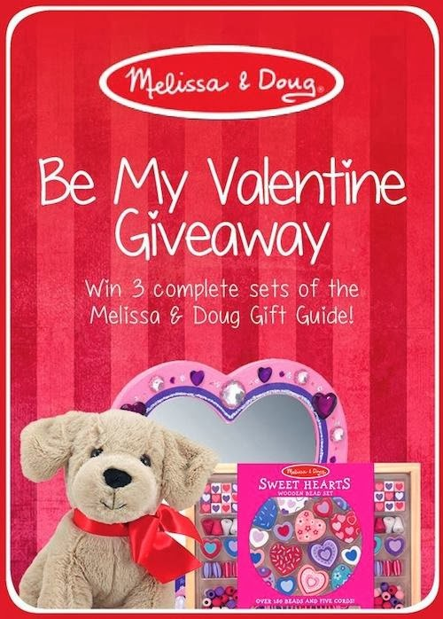 Be My Valentine Giveaway from Melissa & Doug