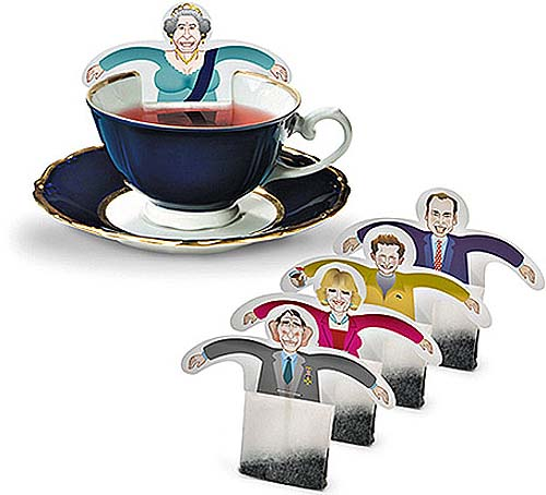 Design de Embalagem - Royal Family Tea Bags - Packaging Design