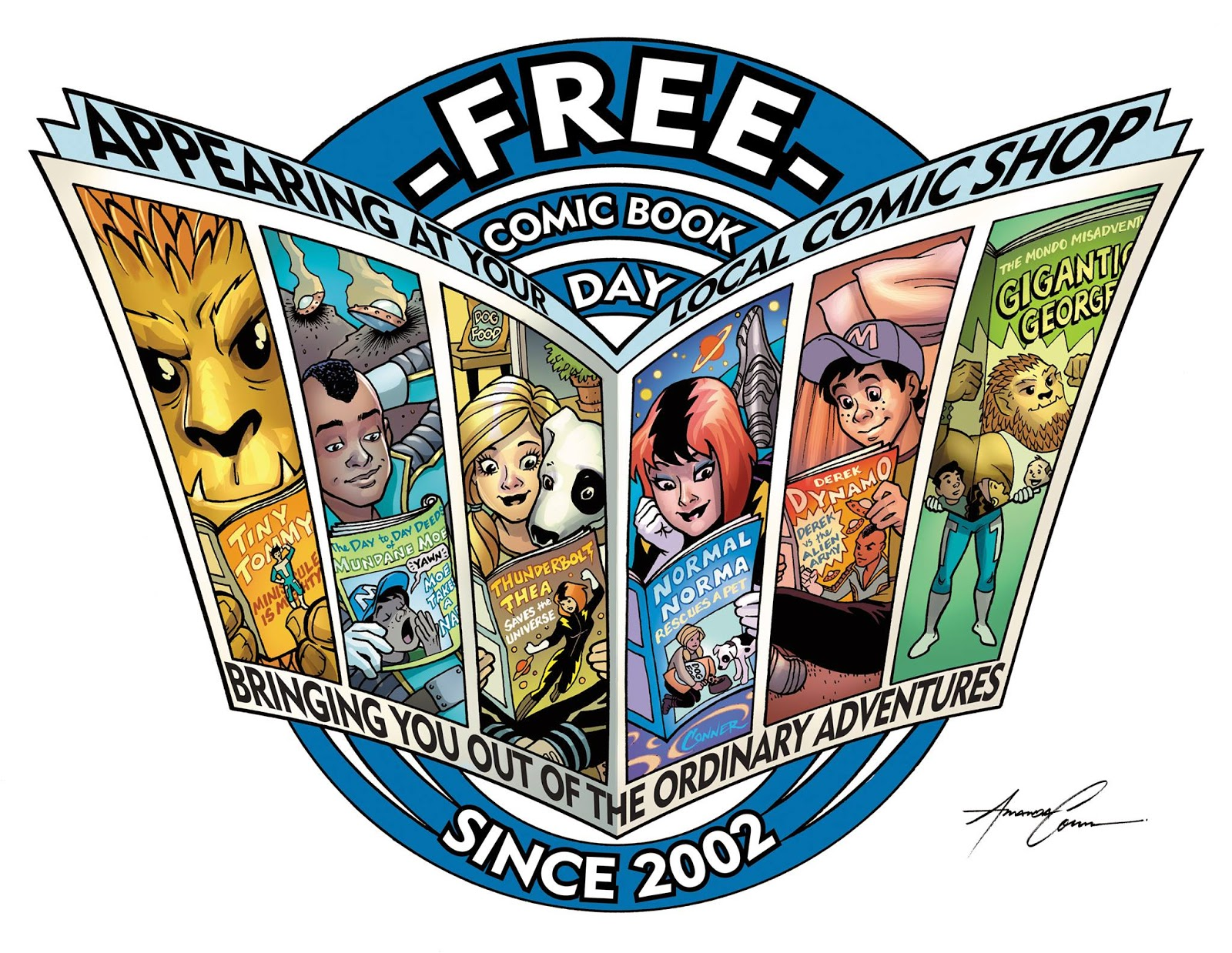 Free Comic Book Day is May 2nd