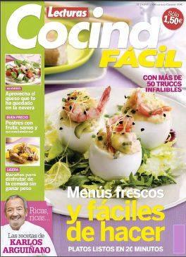 Lecturas cocina f cil junio 2012 pdf descargar gratis - Revista cocina facil lecturas ...