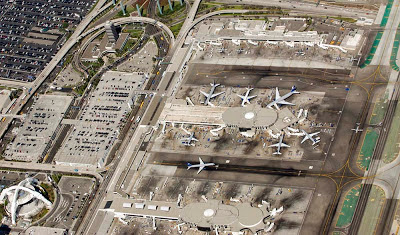 Aeroporto internacional de Los Angeles – Estados Unidos