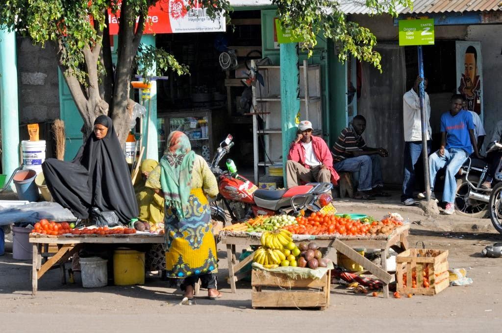 Arusha, Tanzania, Afrikaanse markt, Afrika, Oost-Afrika
