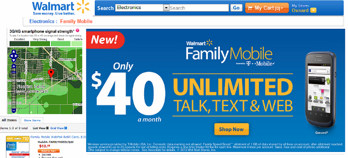 Walmart Famiyl Mobile