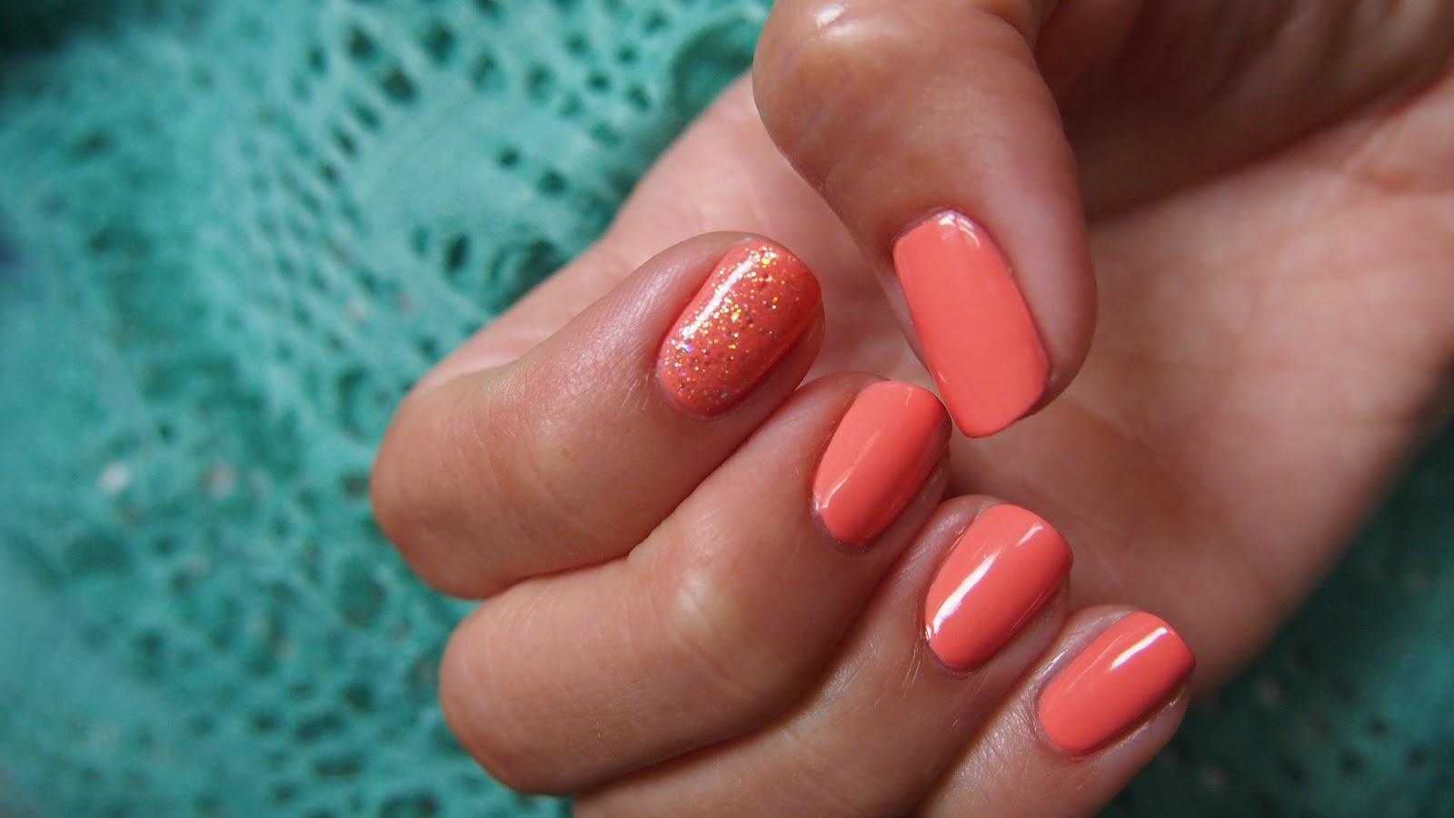 Coral Mosaic | one nail at a time