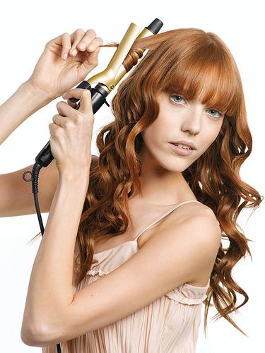 como hacer rizos con las tenacillas - Peinados Con Tenacillas
