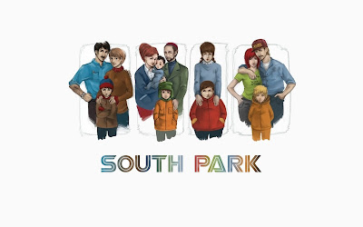 Funny South Park Characters HD Wallpaper