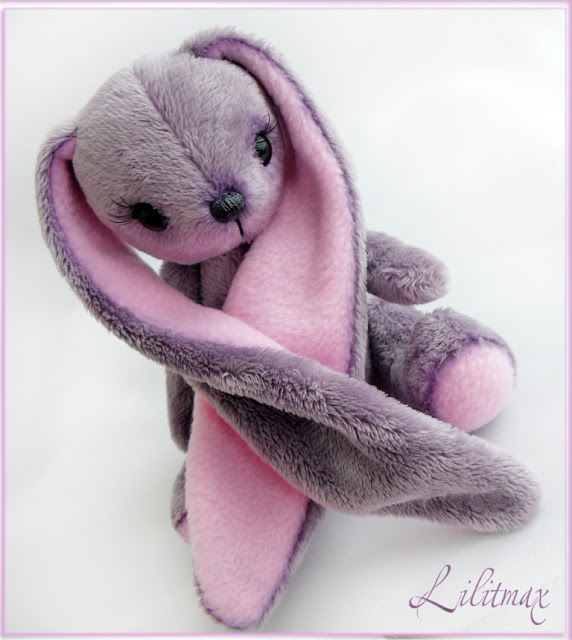 Фиолетовая зайка