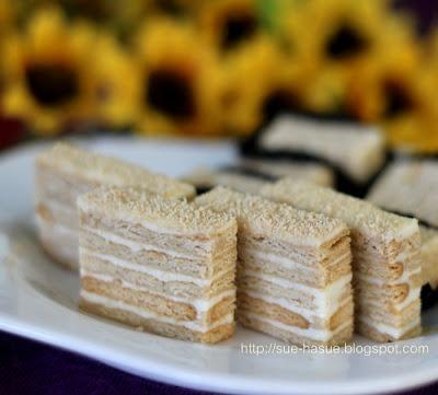 Resepi: Kek Lapis Keju Persona buat penggemar keju