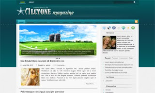 Alcyone WordPress Theme