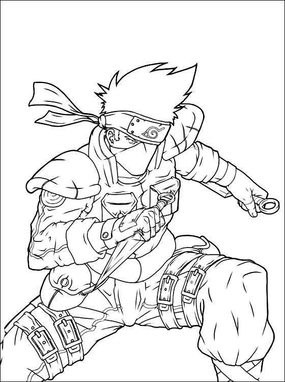 Blog MegaDiverso: Naruto para pintar e imprimir