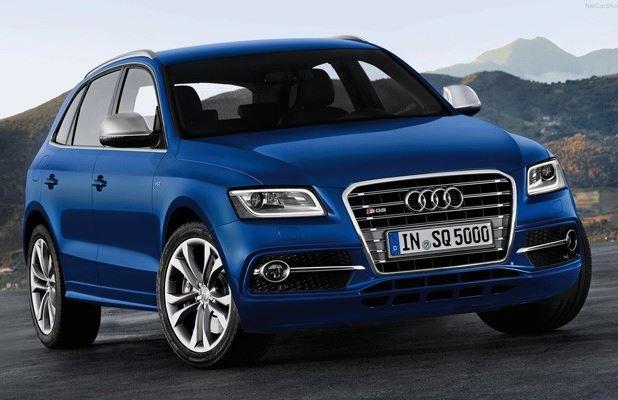 novo Audi SQ5 2014 dianteira