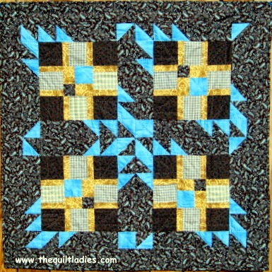 Tutorial of 15 free quilt patterns