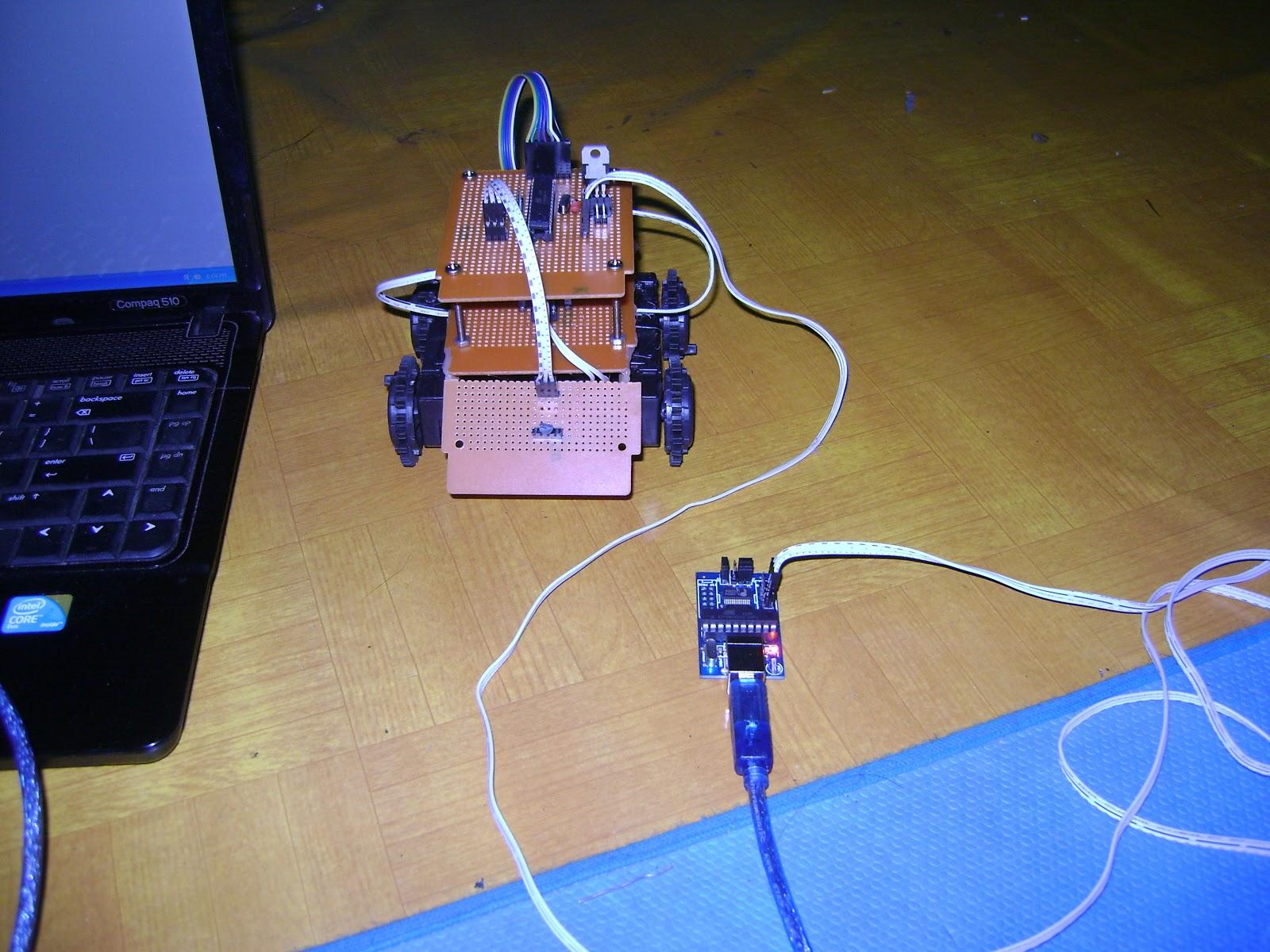 Robot Monitoring Suhu Kontrol Pc T Spybot Bolabot Sensor Lm35 Ini Dapat Dikontrol Menggunakan Laptop Serta Mengirimkan Data Dari Secara Real Time