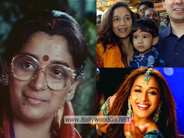 Madhuri Dixit Real Life Pictures without Makeup