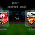 Pronostic Rennes - Lorient : Ligue 1