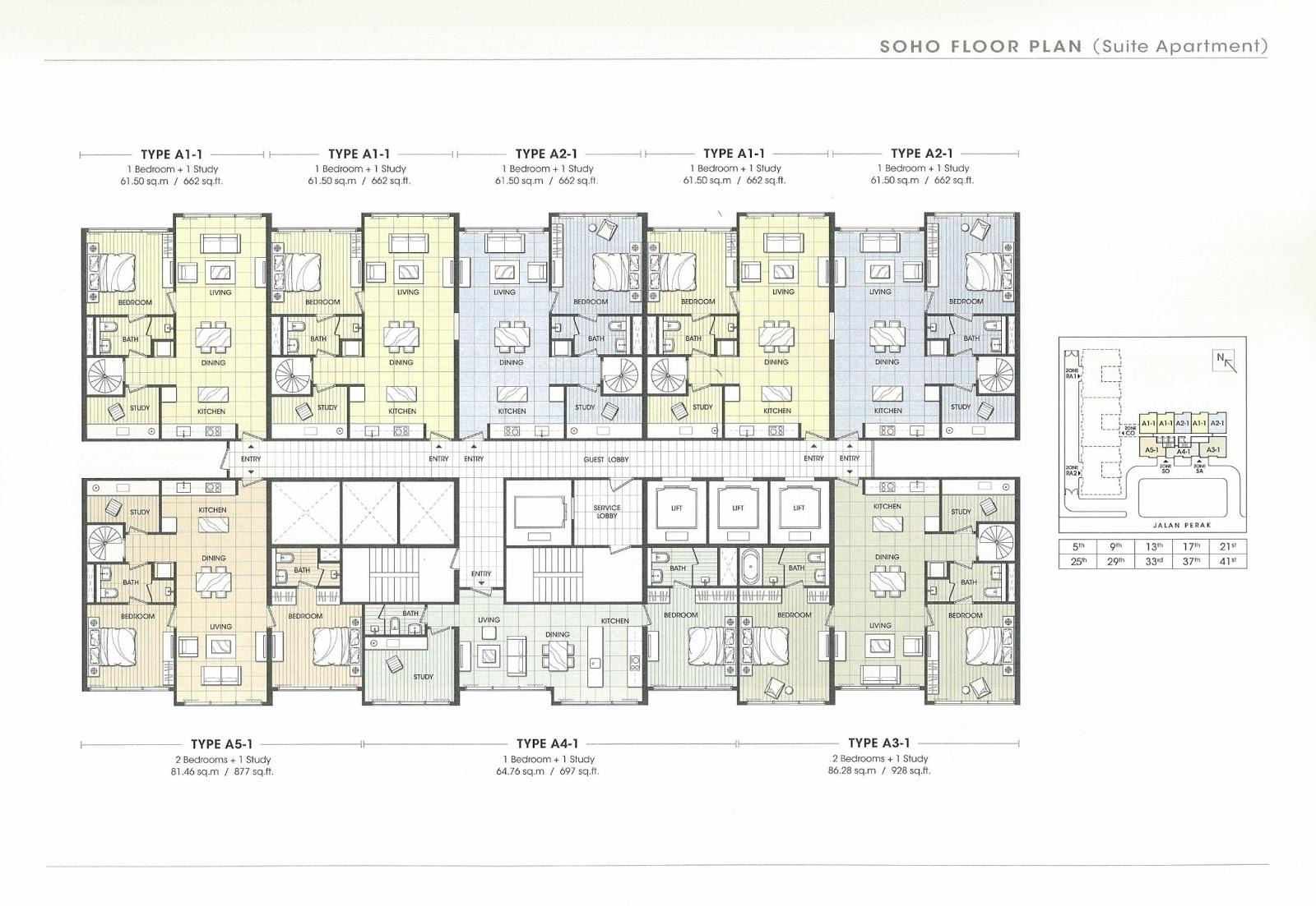 House For Sale Or Rent Soho Klcc