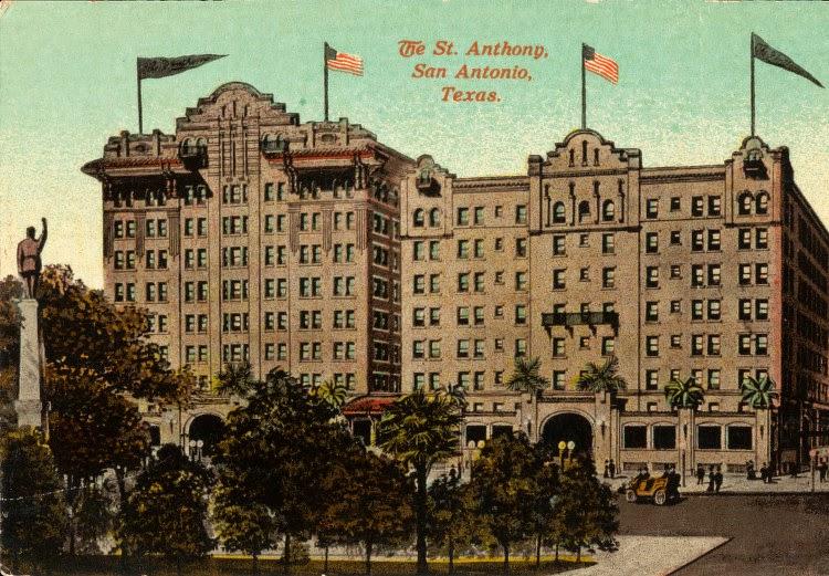 St Anthony Hotel San Antonio Haunted