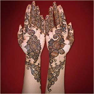 Bridal Mehndi FAshion Design