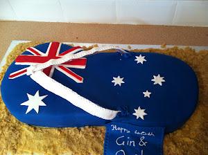Aussie thong cake