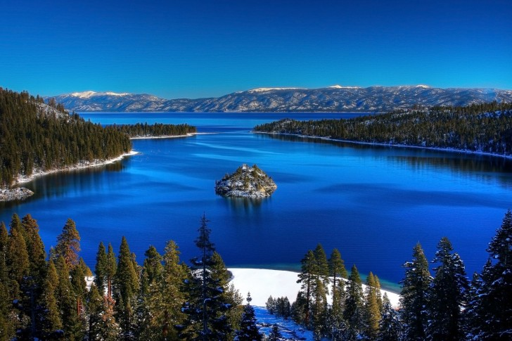 Exotic Places Lake Tahoe Great Visit Place In California Usa