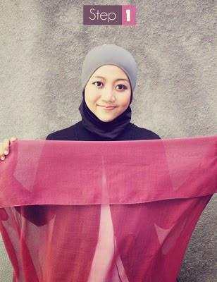 jilbab segi empat 1