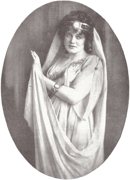 Maria Jeritza as Ariadne in the 1917 version of Ariadne auf Naxos