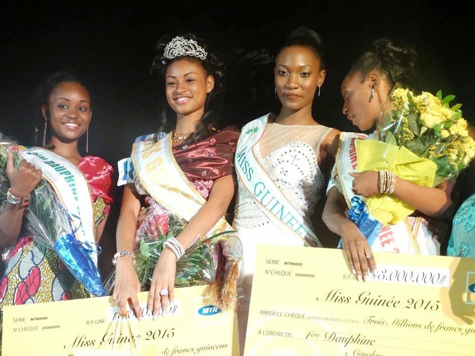 Miss Guinee 2015 winner Mama Aissata Diallo