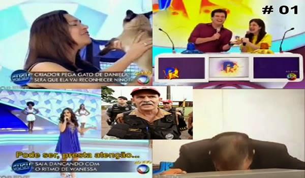 CONFIRA OS MAIORES MICOS DA SEMANA NA TV BRASILEIRA #1