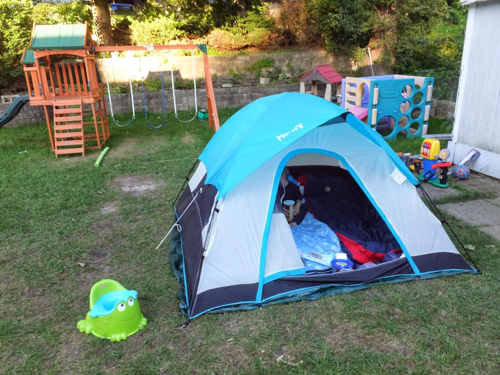 kidspert backyard summer camp out