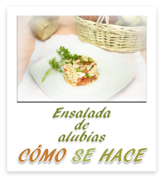 ENSALADA DE ALUBIAS BLANCAS