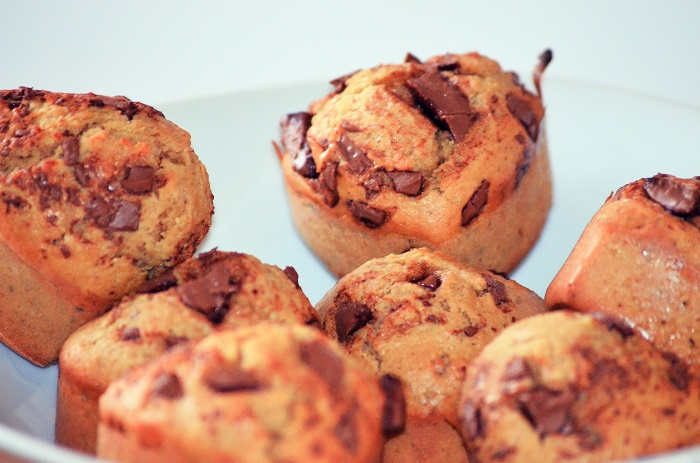 muffin choco noisettes